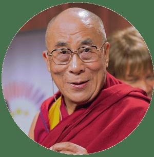 Portrait Dalai Lama